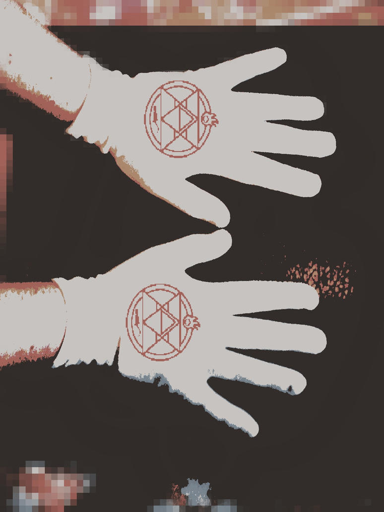 Roy Mustang Gloves