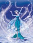 Elsa the snowqueen