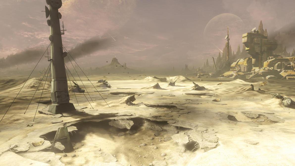 The forgotten ghost battle. by GhostHuckebein