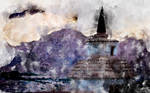 Hemis Gompa (digital painting)