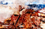 Tsomoriri Lake  (digital painting)