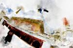 Lamayuru Gompa  (digital painting)