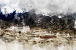 Stakna Monastery (digital painting)