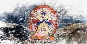 Kalachakra (digital painting)