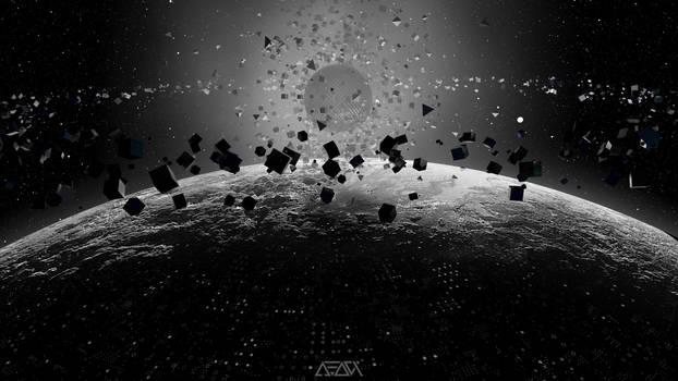 Strange Object Over Pluto