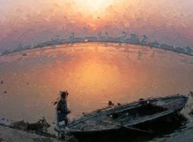 Morning in Benares