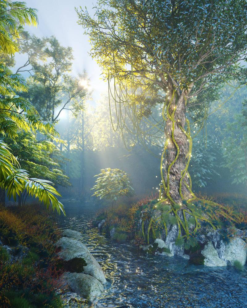 Found a magic tree in the jungle