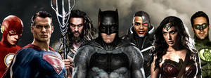 Justice League DCCU #UniteTheSeven