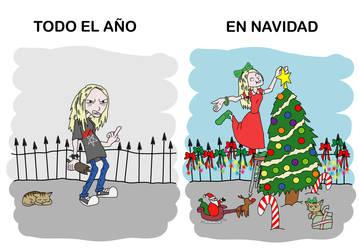 Normalmente VS en Navidad by heraldodelmoro