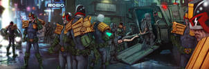 Judge Dredd by MrLeeCarter