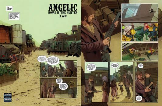 Angelic part 2 Judge Dredd Megazine