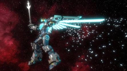 Super Legendary Defender (Voltron Animation) by enderianc