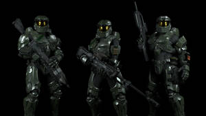 Halo: Green Team V2 by enderianc