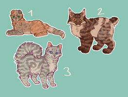 [CLOSED] Sketchy tabby cat adopts by Mogire