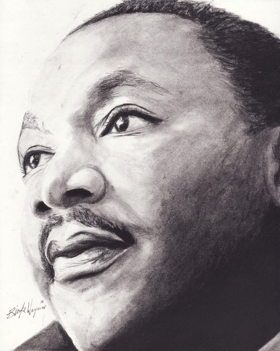 Martin Luther King Jr. by DarkCalamity