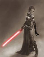 Female Sith by Ruloc