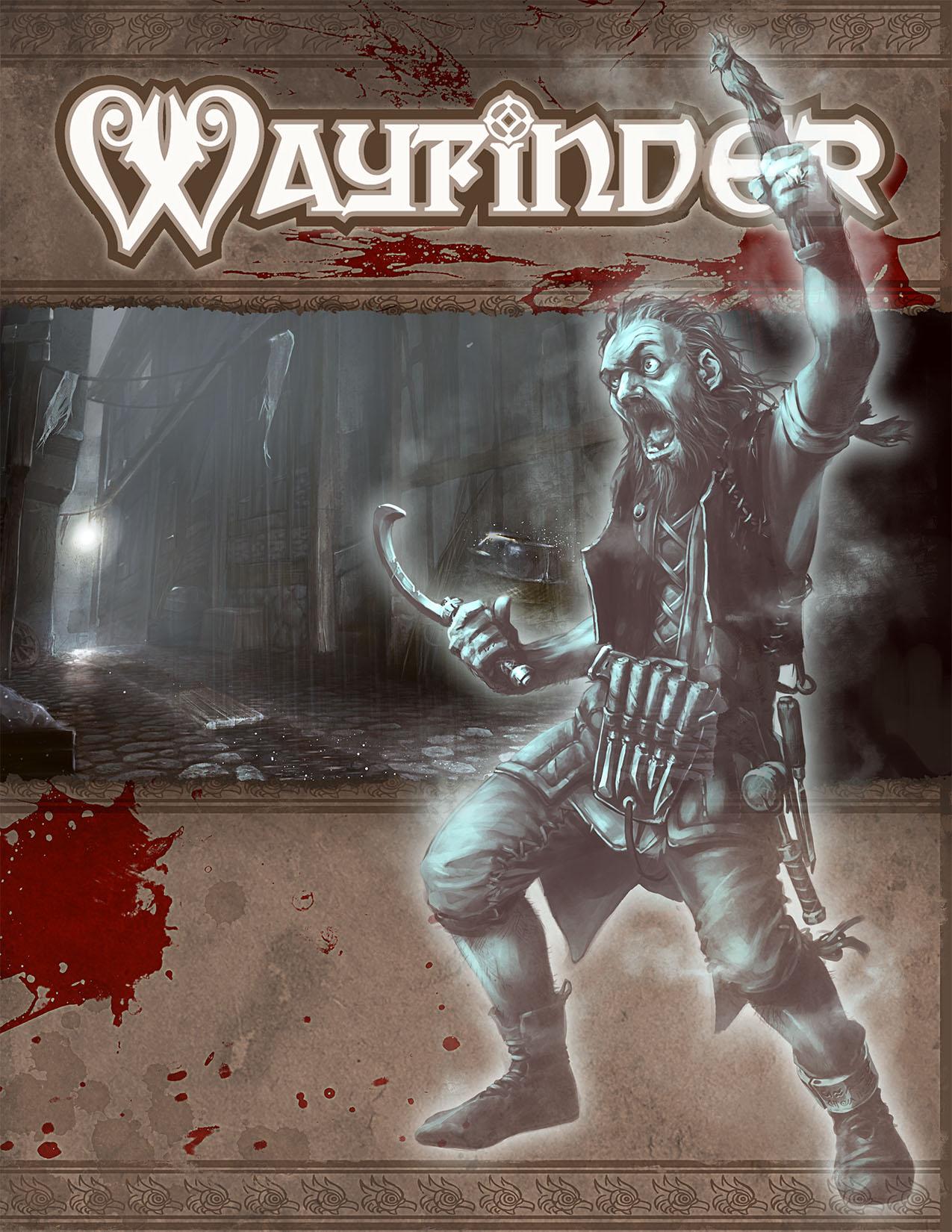 Wayfinder #7 - Cover Illustration by Ruloc
