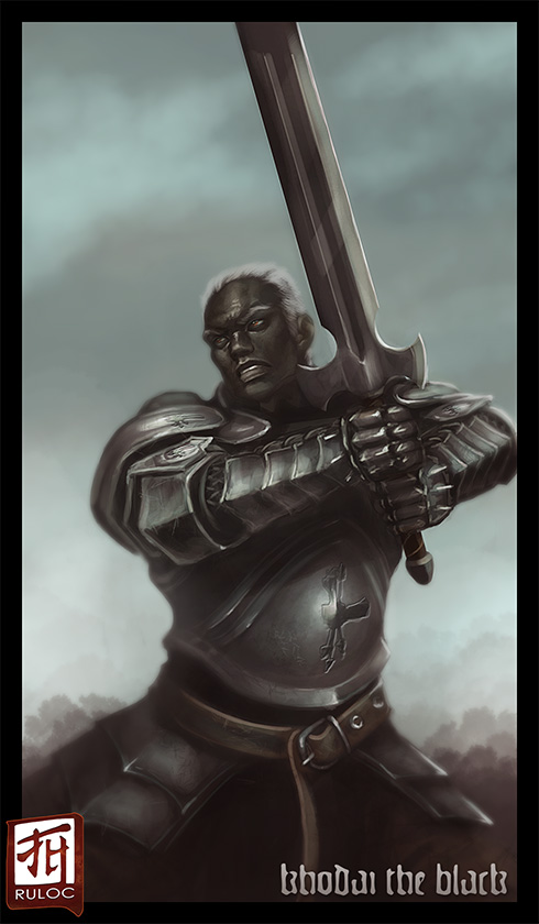 Daily Sketch - Khodai the Black by Ruloc