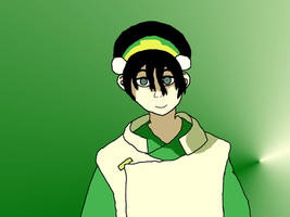 Toph First Attempt by HinataFox790