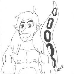Inktober Naga!Kenny by HinataFox790