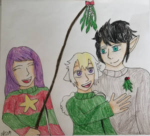 Secret Santa 2019: BunnyLino Mistletoe