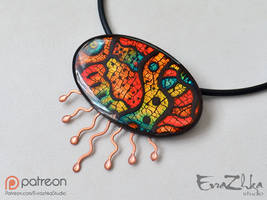 Necklace - Jellyfish-2 by EvrazhkaStudio