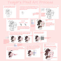 pixel art process by yeagar