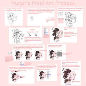 pixel art process
