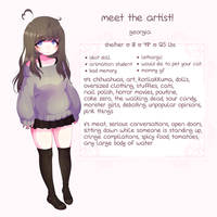 Meet The Artist by yeagar