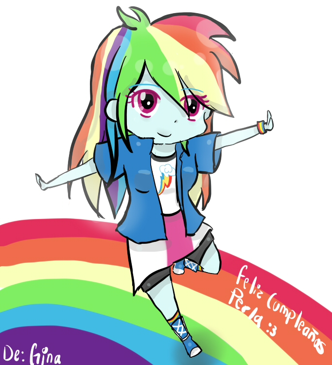 Para Perla: Rainbow Dash! by 0oSapphireo0
