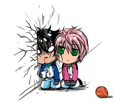 Ikaros and Tomoki by Sync72