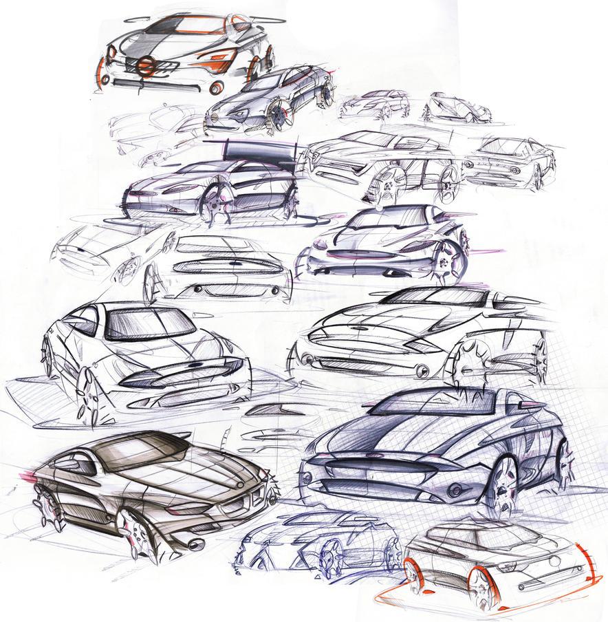Berühmt Skizze Von Autos Galerie - Verdrahtungsideen - korsmi.info