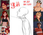 [CLOSE] YCH by dumdelfin