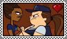 MacArthurxSanders Stamp by xxGaby-23xx