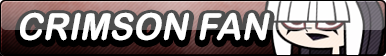 Fan Button: TDRR-Crimson