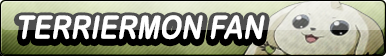Fan Button: Terriermon by xxGaby-23xx