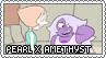 SU: Pearl x Amethyst Stamp by xxGaby-23xx