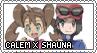 PKMN: CalemxShauna Stamp by xxGaby-23xx