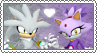 Silver x Blaze - Stamp by xxGaby-23xx