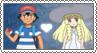 Ash x Lillie - Stamp by xxGaby-23xx