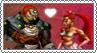 Ganondorf x Nabooru - Stamp by xxGaby-23xx