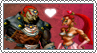 Ganondorf x Nabooru - Stamp by gaby-sunflower