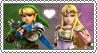 Link x Zelda - Stamp by xxGaby-23xx