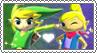 Toon Link x Tetra - Stamp by xxGaby-23xx