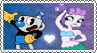 Mugman x Cala Maria - Stamp by gaby-sunflower