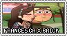 TD: Francesca x Brick Stamp by xxGaby-23xx