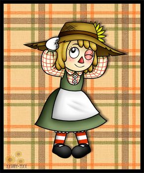 AT: A Rag Scarecrow Doll