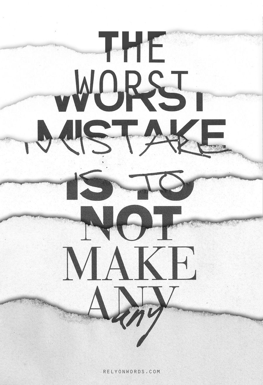 The Worst Mistake by WRDBNR