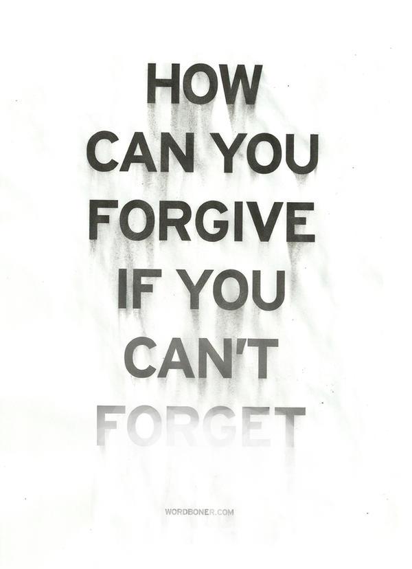 Forget by WRDBNR