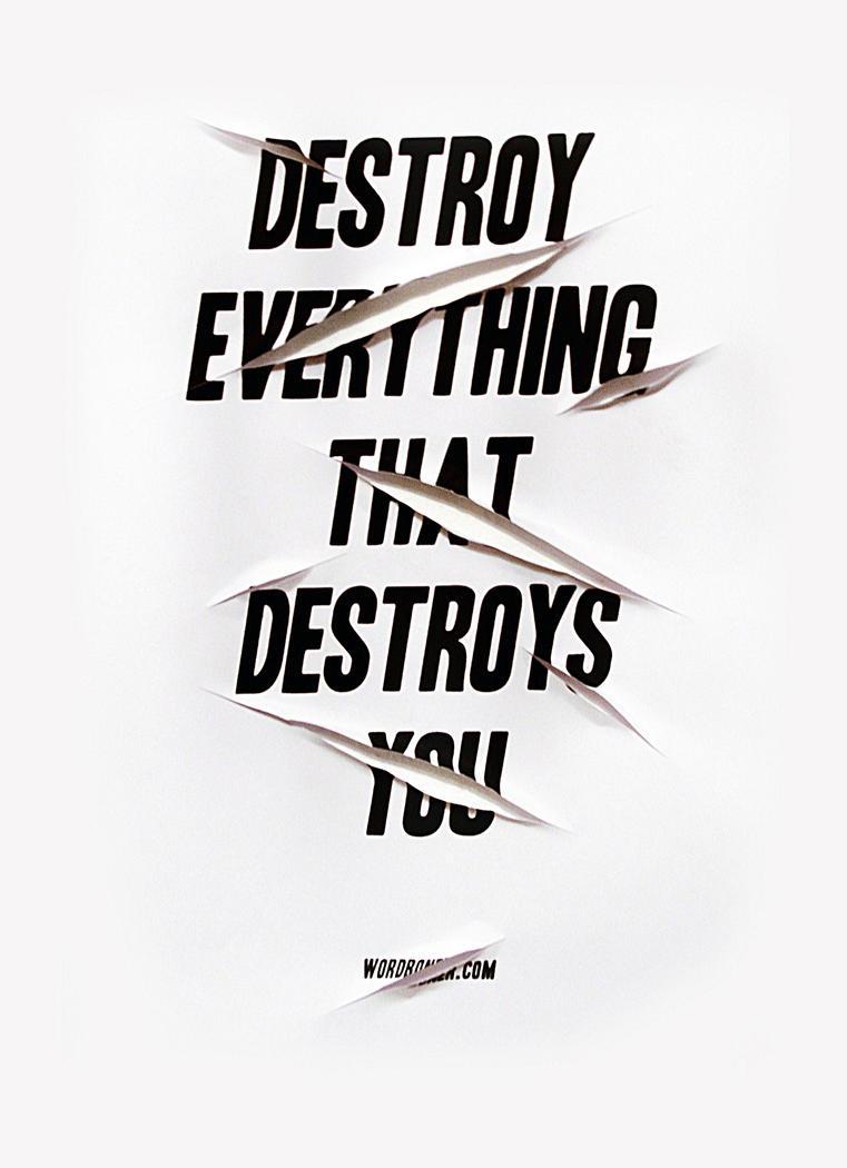 Destroy by WRDBNR